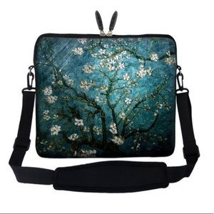 2fe1714fab13 Vincent Van Gogh Almond Blossoming Laptop Bag Case